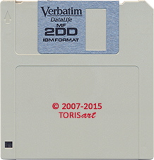 Floppy Disk Double Sided Double Density 1,0 MB