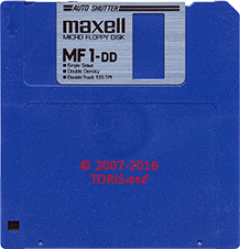 Floppy Disk Single Sided Double Density 500 KB