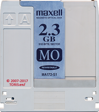 Maxell Rewritable Optical Disk Cartrige 1.2 GB