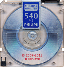 PHILIPS MO-Disk Rewritable 540 MB