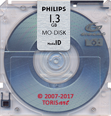 PHILIPS MO-Disk 1.3 GB