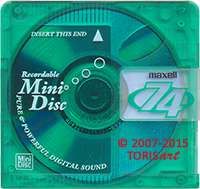 Digital Audio MiniDisc