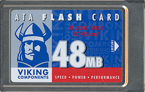 ATA Flash Card 48MB