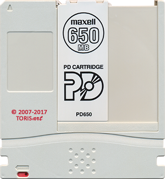 PD Cartridge 650Mb