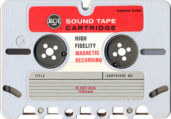 RCA Sound Tape Cartridge