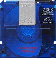SONY Magneto-Optical Disk 2.3 GB