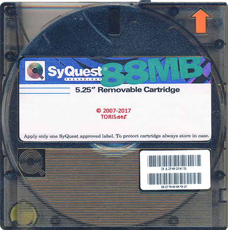 SyQuest 88MB