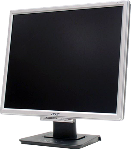 Lcd монитор с люминесцентной
